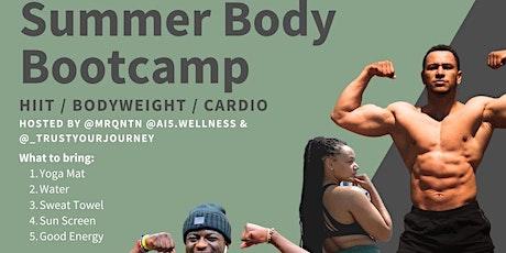 Summer Body Bootcamp tickets