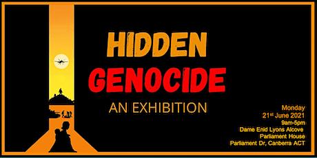 HIDDEN GENOCIDE  -   An Exhibition tickets
