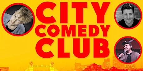 CITY COMEDY CLUB: 24 JULY tickets