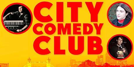 CITY COMEDY CLUB: 23 JULY tickets