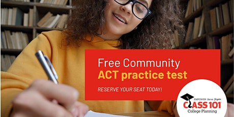 Free Community ACT Practice Test tickets