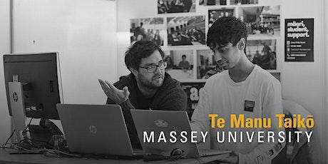 Massey University Te Manu Taikō tickets