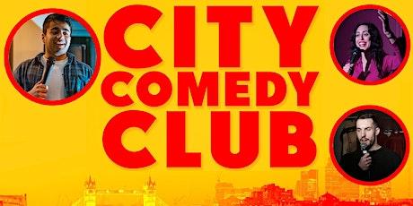 CITY COMEDY CLUB: 22 JULY tickets