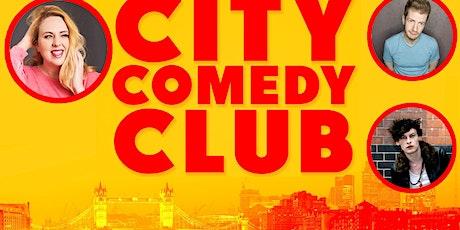 CITY COMEDY CLUB: 16 JULY tickets