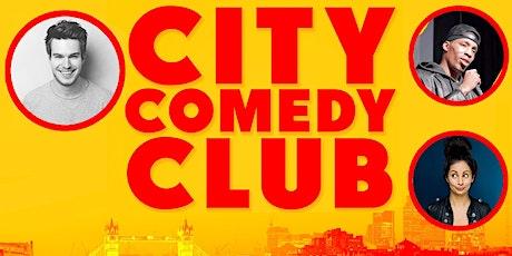 CITY COMEDY CLUB: 15 JULY tickets