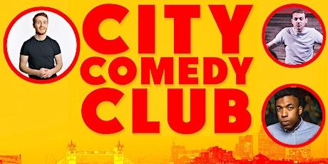 CITY COMEDY CLUB: 10 JULY tickets