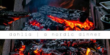dahlia | a nordic dinner tickets
