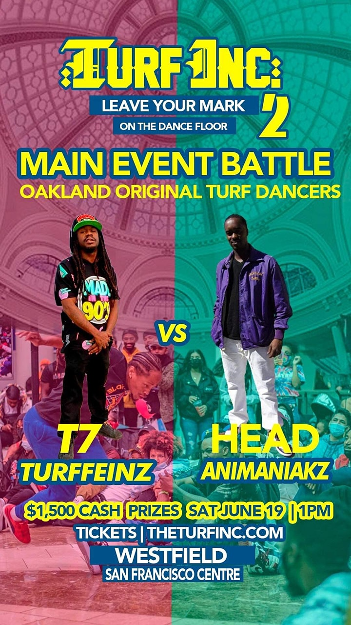 Leave Your Mark on the Dance Floor  2| Dance Battle Event at Westfield SF image