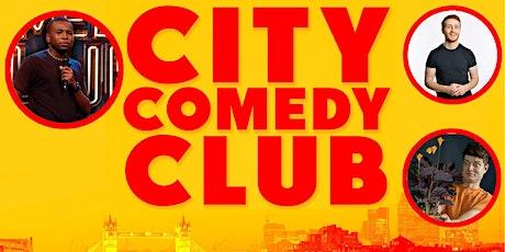 CITY COMEDY CLUB: 09 JULY tickets