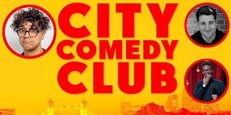 CITY COMEDY CLUB: 08 JULY tickets