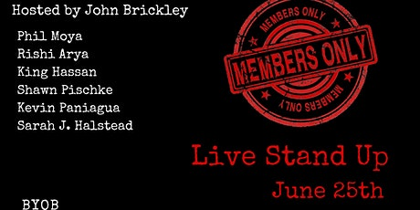 The Members Only Comedy Show tickets