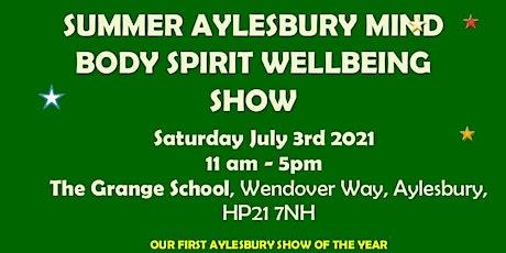 Aylesbury Mind Body Spirit Wellbeing Show tickets