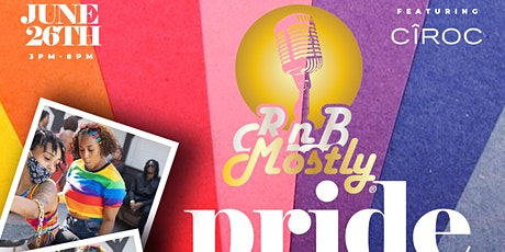 RnBMostly: A Mostly R&B 'DayParty'  - #PRIDE (June 2021) tickets