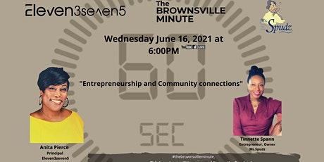 Entrepreneurship and Community Connections tickets