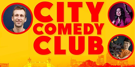 CITY COMEDY CLUB: 26 JUNE tickets