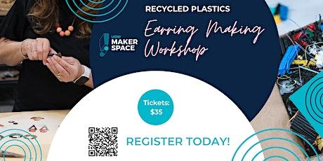 Recycled Plastics Jewellery Workshop - Saturday 19th June tickets