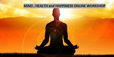 Mind, Health and Happiness tickets