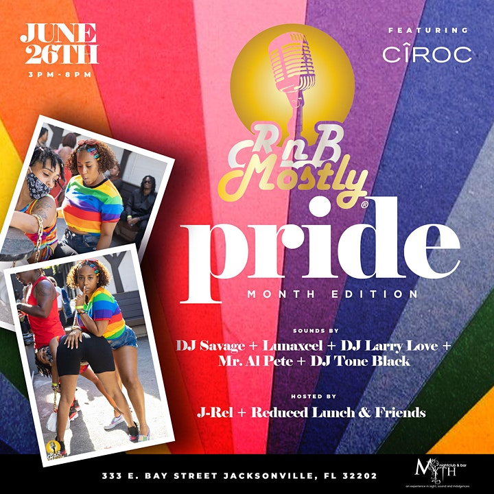 RnBMostly: A Mostly R&B 'DayParty'  - #PRIDE (June 2021) image
