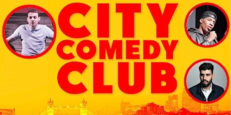 CITY COMEDY CLUB: 24 JUNE tickets