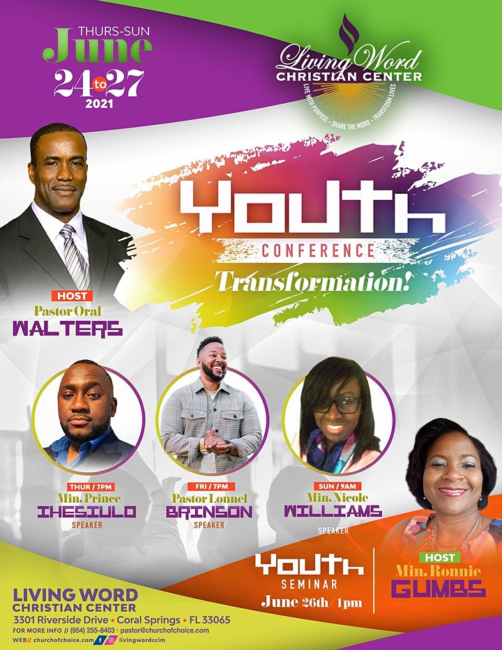 Living Word Christian Center Youth Conference image