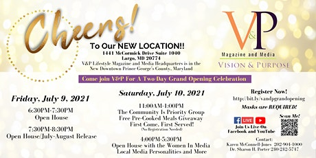 V&P Lifestyle Magazine and Media Headquarters Grand Opening tickets