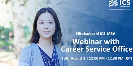 Hitotsubashi ICS Webinar with Career Service tickets