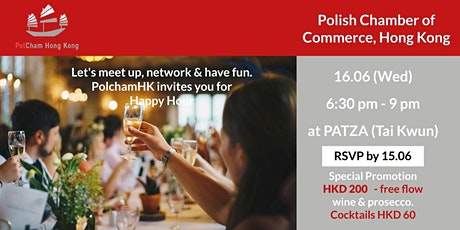 Polish Chamber of Commerce in HK HAPPY HOUR tickets