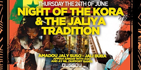 Night of the KORA -  Dining Experience  + Live Music tickets