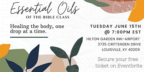 Essential Oils of the Bible  Class (Powered by Jeweled Essentials) tickets