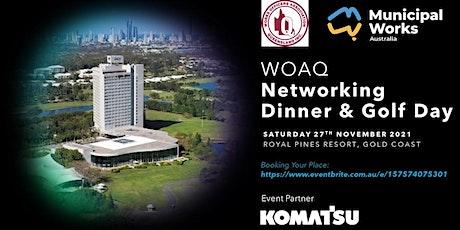 WOAQ Networking Dinner & Golf Day tickets