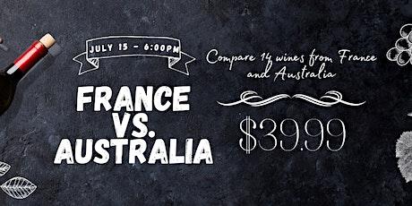 France Vs Australia |  A Fine Wine Event! tickets