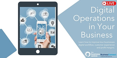 Digital Operations in  Your Business - Webcast tickets