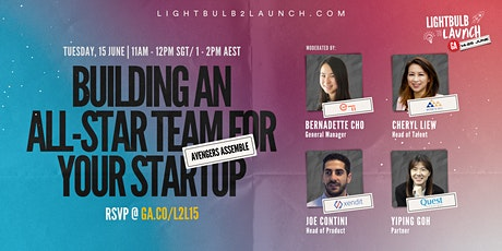 Avengers Assemble: Building An All-Star Team for Your Startup tickets