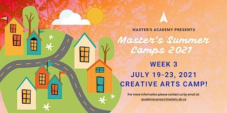 Master's Academy Summer Camp - Week 3 (July 19-23) tickets