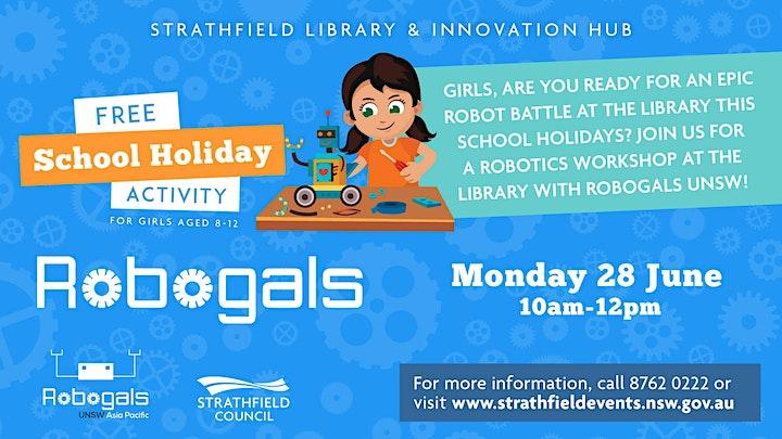 Robogals School Holiday Workshop image