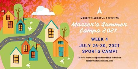 Master's Academy Summer Camp - Week 4 (July 26-30) tickets