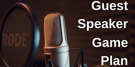 Guest Speaker Game Plan Masterclass tickets