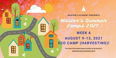 Master's Academy Summer Camp - Week 6 (Aug 9-13) tickets