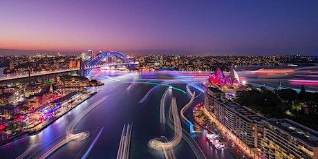 Enjoy Vivid  from Sydney Harbour tickets