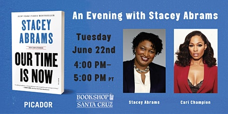 An Evening with Stacey Abrams | presented by Bookshop Santa Cruz & Picador tickets
