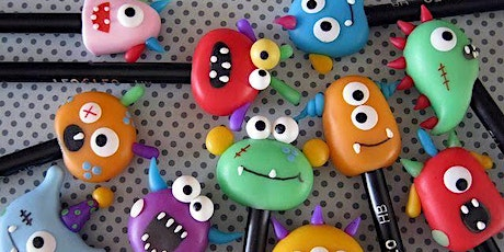 Kids Polymer Clay Workshop - Keyrings, Pencil Toppers & Jewelry tickets