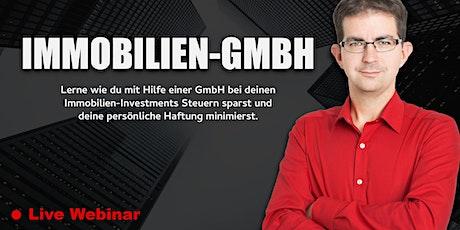"""Webinar - """"Die Immobilien-GmbH"""" Tickets"""