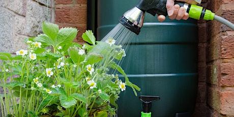 Rainwater Tanks - webinar tickets