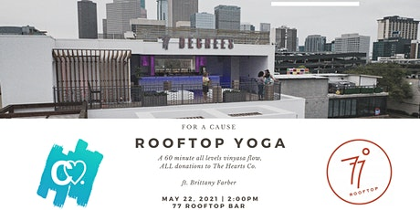 Rooftop Yoga for a Cause tickets