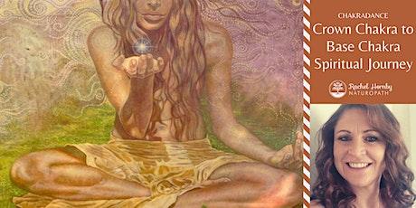 Chakradance with Rachel – Crown Chakra to Base Chakra Spiritual Journey tickets