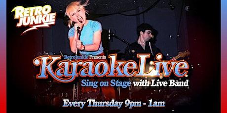 Live Band Karaoke @ Retro Junkie tickets