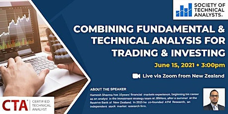 Combining Fundamental & Technical Analysis for Trading & Investing tickets