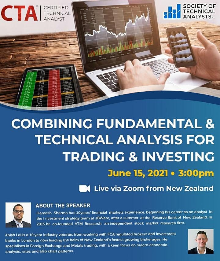Combining Fundamental & Technical Analysis for Trading & Investing image