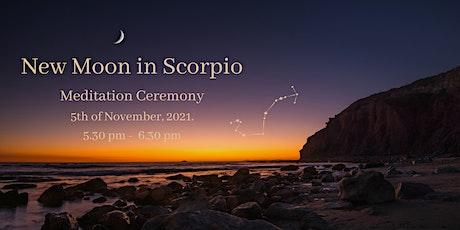 New Moon in Scorpio tickets