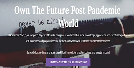 Own The Future Post Pandemic World tickets